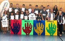 HSG Hanau erntet viel Lob für ihr erstes Demokratie-Projekt